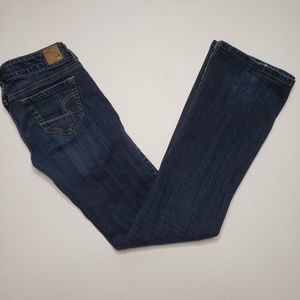American Eagle Favorite Boyfriend Dark Wash Jeans